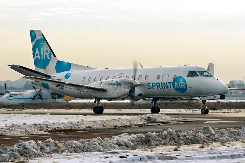 Saab 340B der Sprint Air (I. Bubin, GFDL 1.2)