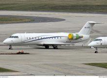 United Aviation CRJ200 5A-UAD