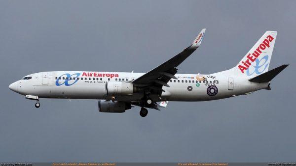 Air Europa Boeing 737-800 EC-JAP