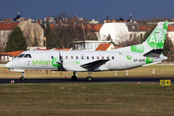 Sprint Air Saab 340A SP-KPR (© Martin L.)
