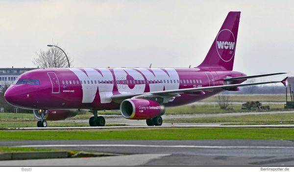 WOW Air Airbus A320-200 TF-BRO (© Basti)
