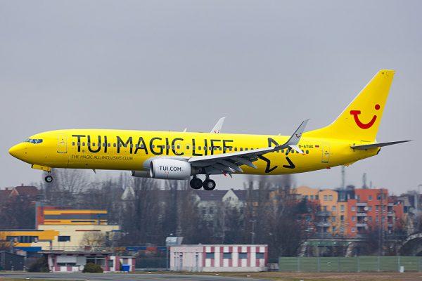 TUIfly Boeing 737-800(WL) D-ATUG