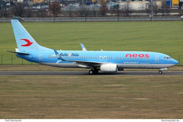 Neos Boeing 737-800(WL) I-NEOX (© R. Manteufel)