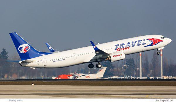 Travel Service Boeing 737-900ER OK-TSI