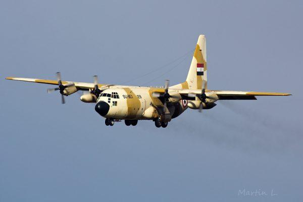 "Egypt Air Force, Lockheed C-130 ""Hercules"" SU-BEX 1291"