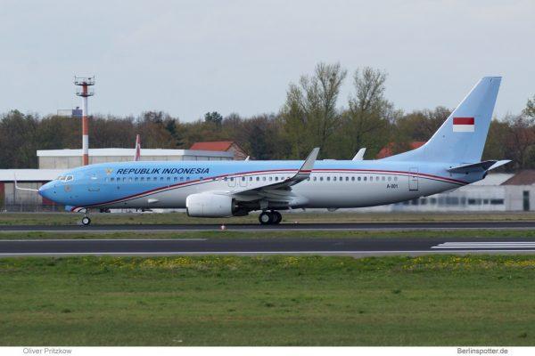 Indonesia Gvmt. Boeing 737-800(BBJ2) A-001