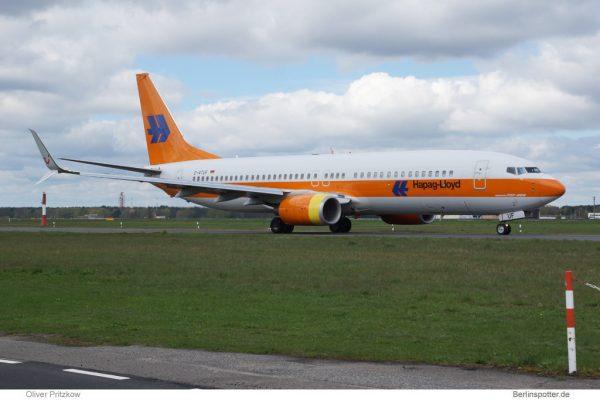 TUIfly Boeing 737-800(WL) D-ATUF