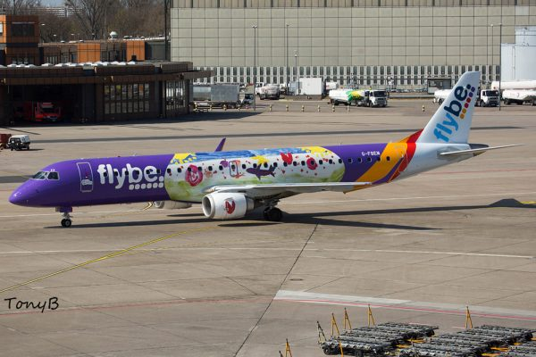 Flybe Embraer 195LR G-FBEM