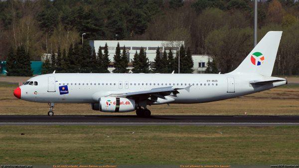 DAT Danish Air Transport Airbus A320-200 OY-RUS