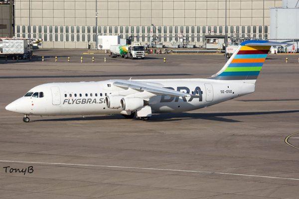 BRA Braathens Regional Airlines Avro RJ100 SE-DSO