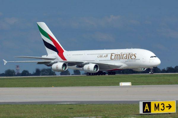 Emirates Airbus A380 (© O. Pritzkow)