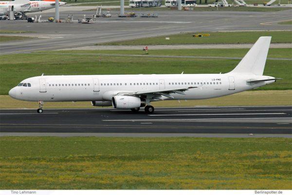 Air Via Airbus A321-200 LZ-PMZ