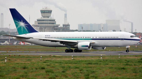 Aramco Boeing 767-200ER N767A