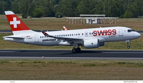 Bombardier CS100 C-GWXZ
