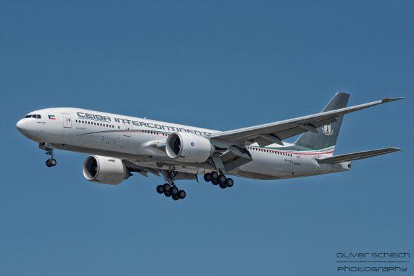 Ceiba Intercontinental Boeing 777-200 CS-TQX