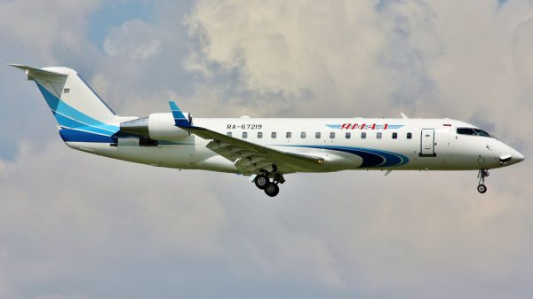Yamal Airlines Bombardier Challenger 850 RA-67219