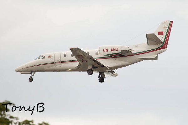 Royal Moroccon Air Force Cessna 560 XL Citation XLS CN-AMJ