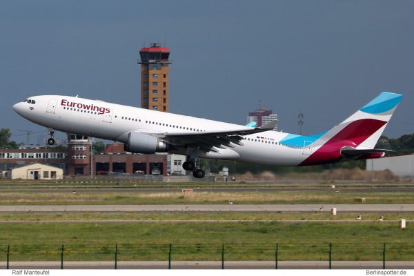 Eurowings Airbus A330-200 D-AXGD