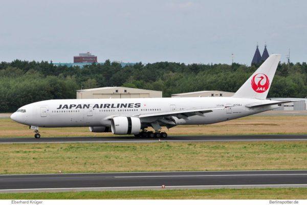 Japan Airlines Boeing 777-200ER JA706J (TXL 14.7.2016, E. Krüger)