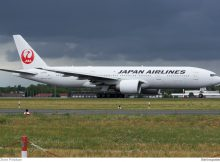 Japan Airlines Boeing 777-200ER JA706J (TXL 15.7.2016, O. Pritzkow)