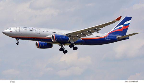 Aeroflot Airbus A330-200 VP-BLY