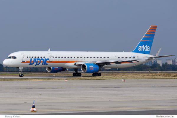 Arkia Boeing 757-300(WL) 4X-BAW (SXF 16.9. 2016)