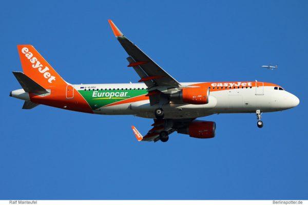 easyJet Airbus A320-200(SL) G-EZPC (SXF 15.9. 2016)