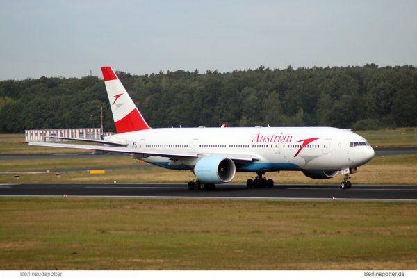 Austrian Airlines Boeing 777-200 OE-LPB (TXL 20.9. 2016)