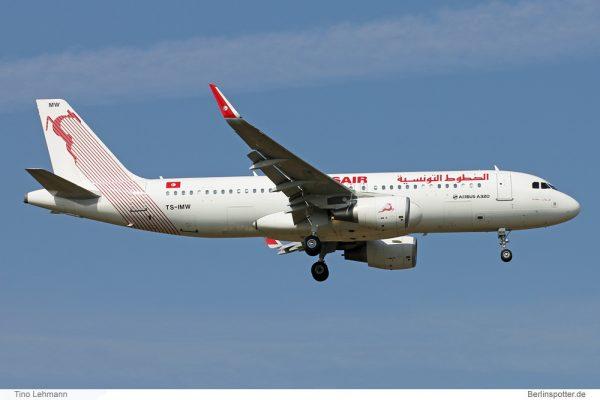 Tunisair Airbus A320-200(SL) TS-IMW (SXF 16.9. 2016)
