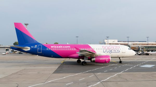 Wizz Air A320-200 in Berlin-Schönefeld (© G. Wicker/FBB)