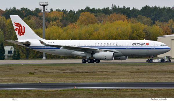 Air China Airbus A330-200 B-6130 (TXL 2.11. 2016)