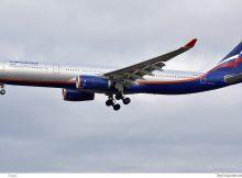Aeroflot Airbus A330-300 VQ-BEK (SXF 1.1. 2017)