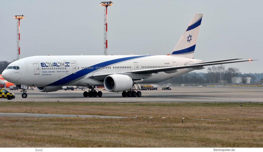 El Al Boeing 777-200ER 4X-ECE (SXF 7.2. 2017)