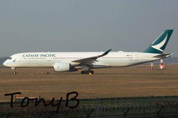 Cathay Pacific Airbus A350-900 B-LRM (TXL 19.2. 2017)