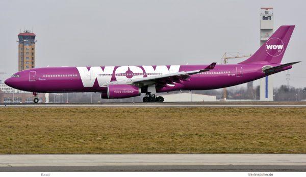 Wow Air, Airbus A330-300 TF-GAY (SXF 11.3. 2017)