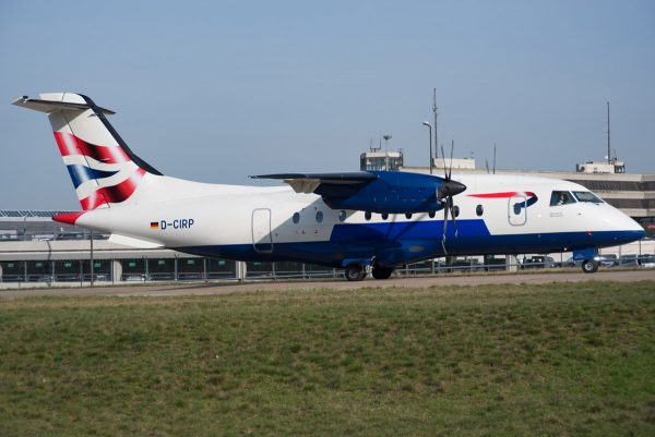MHS Aviation, Dornier 328-110 D-CIRP (TXL 31.3. 2017)