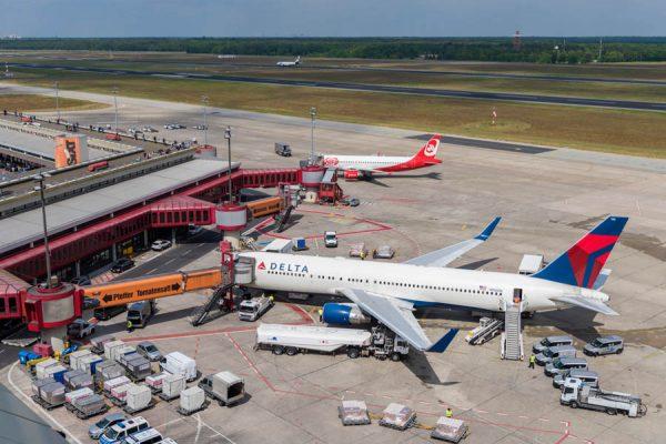 Delta ist nach sechs Jahren wieder zurück in Tegel (Foto: G. Wicker/FBB)