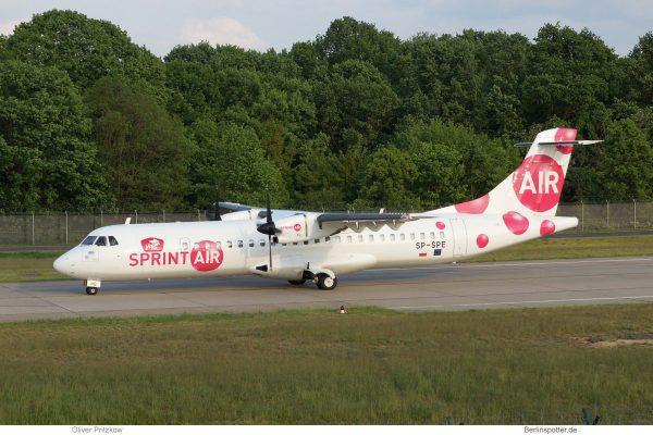 Sprint Air, ATR72-200 SP-SPE (TXL 20.5. 2017)