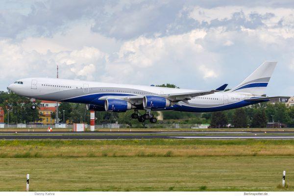 HiFly, Airbus A340-500 CS-TFX (TXL 16.6. 2017)