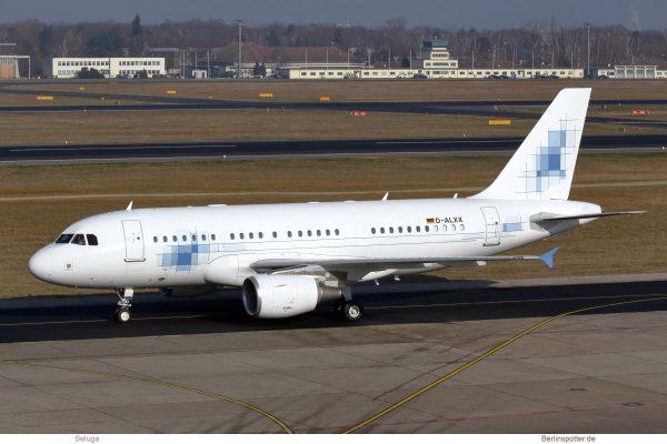 K5-Aviation, Airbus A319(CJ) D-ALXX (TXL 8.2. 2018)