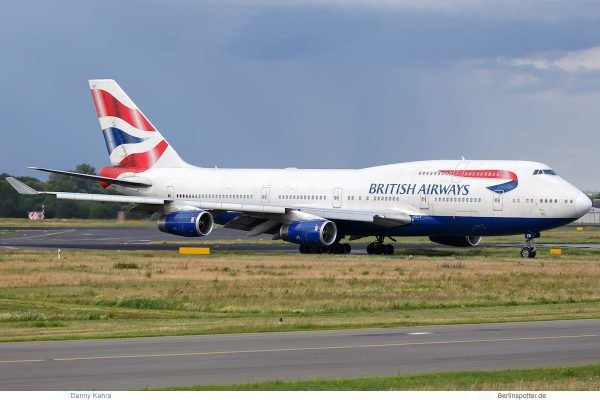 British Airways, Boeing 747-400 G-CIVB (TXL 16.6. 2017)