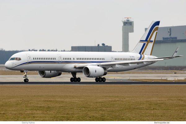 GainJet, Boeing 757-200(WL) SX-RFA (SXF 24.3. 2018)