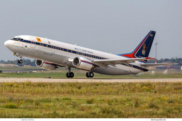Thai Gvmt. Boeing 737-400 HS-CMV (SXF/BER 30.8. 2017)