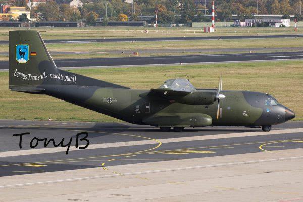 Luftwaffe, C-160 Transall 50+64, LTG 61 Servus Transall (TXL 13.10. 2017)
