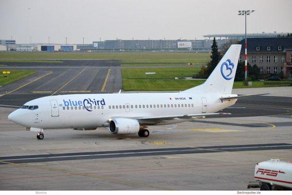 Bluebird Airways, Boeing 737-300 9H-NOA (SXF 16.10. 2017)