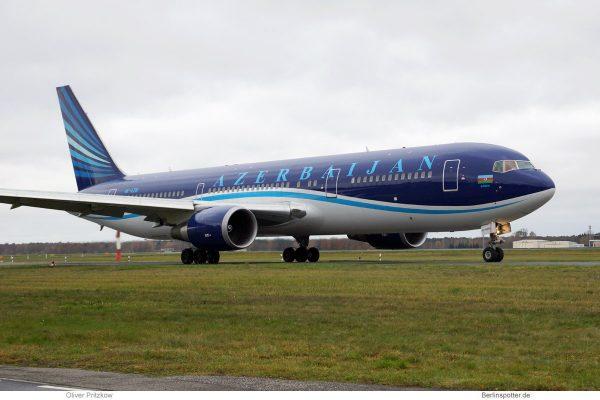 Azerbaijan Airlines Boeing 767-300ER 4K-AZ81 (TXL 19.11. 2017)