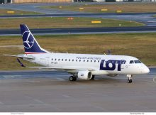 LOT Polish Airlines Embraer 170 SP-LDG (TXL 4.12. 2017)