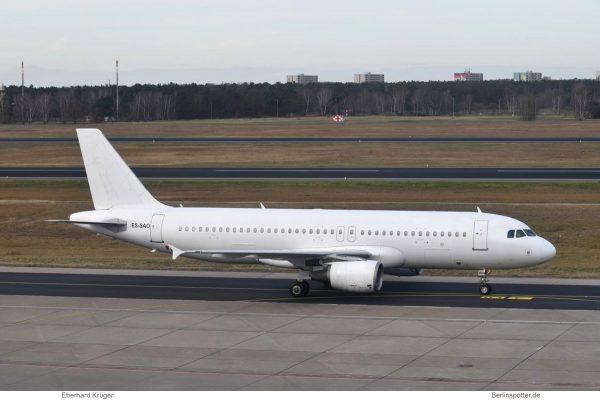 SmartLynx Estonia, opf easyJet, Airbus A320-200 ES-SAO (TXL 6.1. 2018)