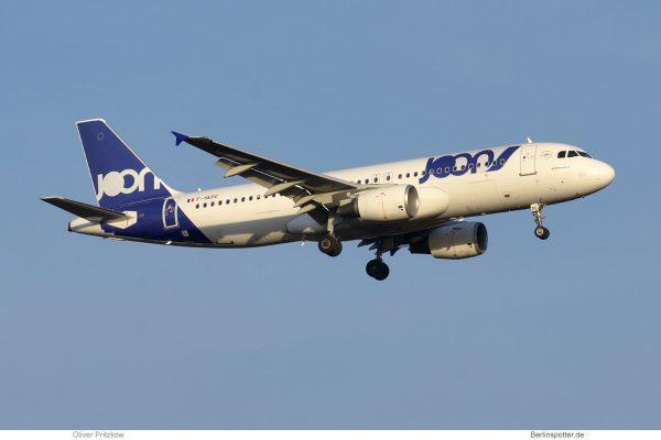 Joon Airbus A320-200 F-HEPC (TXL 27.12. 2017)