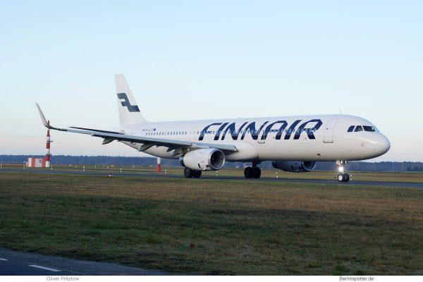 Finnair, Airbus A321-200(SL) OH-LZT (TXL 26.12. 2017)